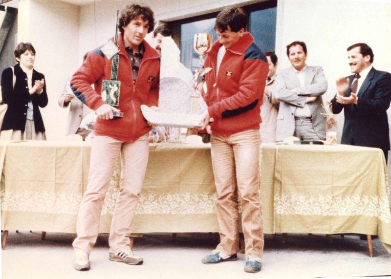 1.miesto Rallye Brenta 1983