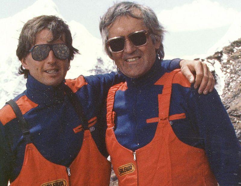 S otcom Ivanom Gálfym Pod Lhotse Shar r. 1984