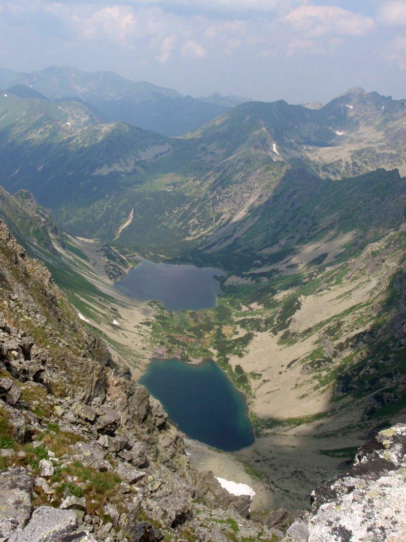 Výhľad z Kôprovského štítu.
