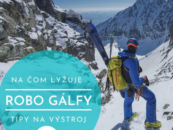 Aké skialp lyžiarky používal Robo Gálfy v sezóne 19/20